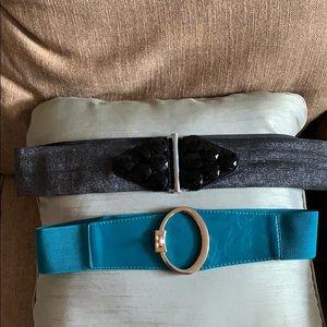 Accessories - (2) Plus Size Belts - Fits Sizes 16-20